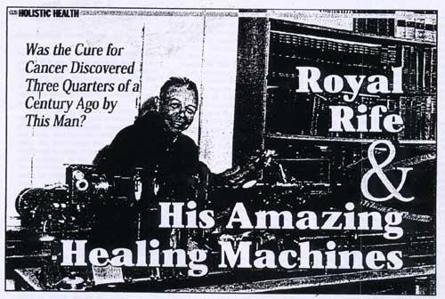 ROYAL RAYMOND RIFE