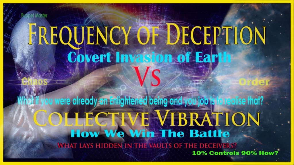 Episode 3: Frequency of Deception Vs Collective Vibration: The Puppet Masters
