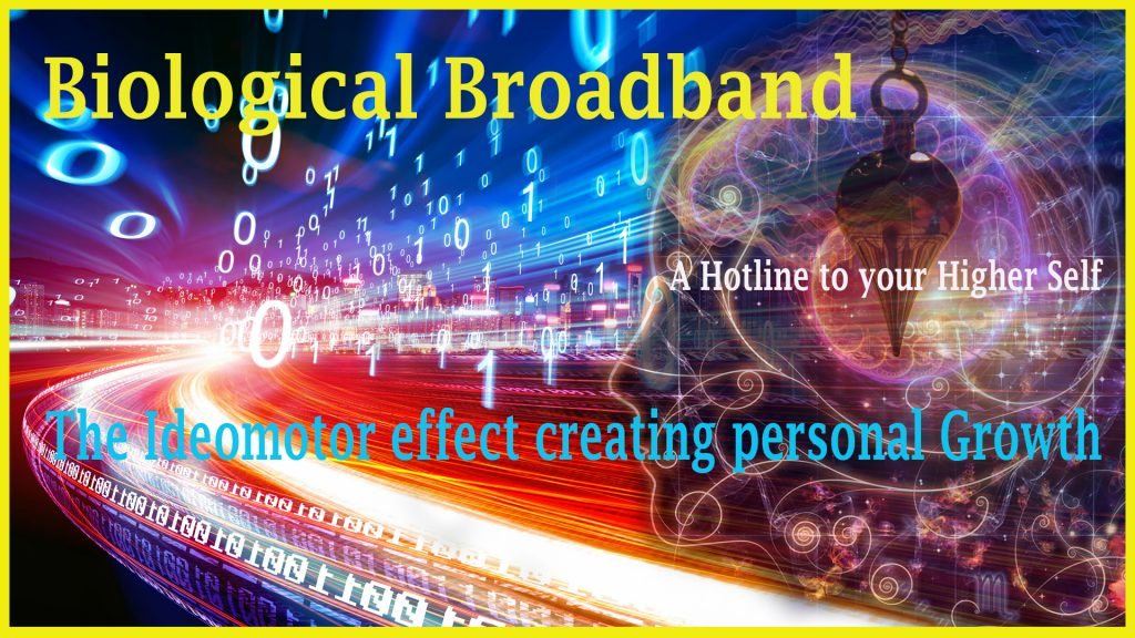 Episode 7: Biological Broadband; The Ideomotor effect creating personal Growth